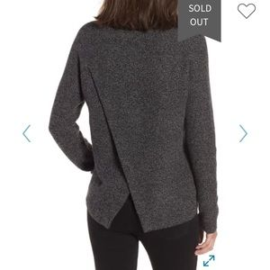 Madewell Province Crossback Knit Pullover XS